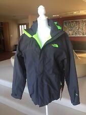 The Northface Men's Inlux Insulated Jacket Asphalt Grey/Green Heather CKY2