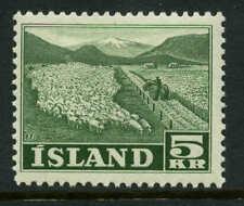 Iceland  Scott #268 Facit #306 Mint  Cats $52.50