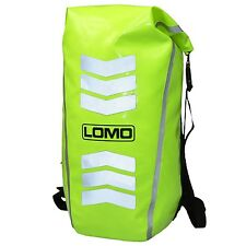 Lomo 30L High Visibility Cycling & Motorbike Dry Bag Rucksack Hi Vis Viz Drybag