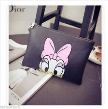 2017 female stamp Fashion cute Donald Mickey Minnie Shoulder Bag Messenger Bag