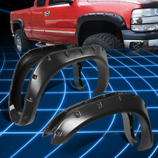 "3"" Grain Textured Black Thermo ABS Wheel Fender Flares for 2002-2009 Dodge Ram"
