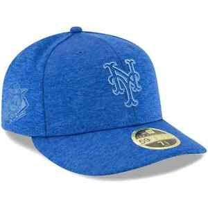 New Era 59FIFTY 2018 MLB New York Mets Clubhouse Low Profile Fitted 7 1/2 Hat