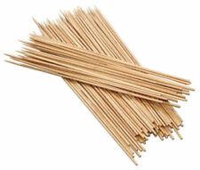 Varillas de Madera Bamboo Para Pinchos Barbacoa Asados Cuadrícula 32645V