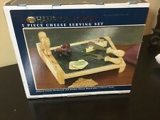 Hampton Forge 5 Piece Cheese Serving Set New