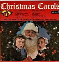"CHRISTMAS CAROLS 100 Christmas Voices Collectable Vintage Vinyl Album 12"" LP KA"