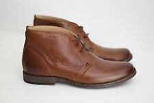 NEW Frye Men's 'Phillip' Chukka Boot- Cognac Brown Leather- 9 B - 3476831 (X41)