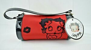 FAB starpoint - Betty Boop - Red Makeup Cosmetics Case / Bag / Purse (New)