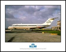 KLM Royal Dutch Airlines DC-9 11x14 Photo (C138LGJC11X14)