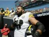 "Alejandro Villanueva Pittsburgh Steelers National Anthem Photo (8"" x 10"")"