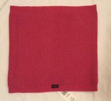 NWT Lauren Ralph Lauren Active Scarf Snood Cowl Hood Wool Blend Fleece Lined