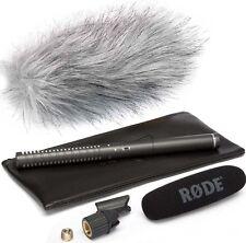 Rode NTG-2 Richtmikrofon NTG2 Mikrofon + KEEPDRUM Fell-Windschutz WS-WH