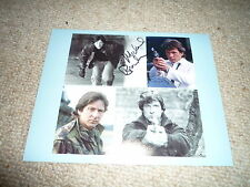 MICHAEL BRANDON signed Autogramm 20x25 cm In Person DEMPSEY & MAKEPEACE