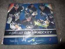 Pittsburgh Penguins 2013 Season MOUSEPAD SGA 2-2-13 Malkin Crosby promotional