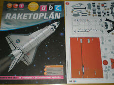 Space Shuttle Discovery Czech rare paper model 1 : 260