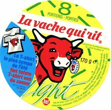 Étiquette de fromage : VACHE QUI RIT Neuve