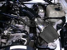 All Black For 91-95 Jeep Wrangler 2.5L 4.0L S SE Sahara Islander Air Intake Kit