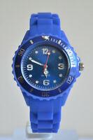 Montre Enfants Filles Garçons Bracelet Silicone Petit Modèle Watch Couleur BLEU