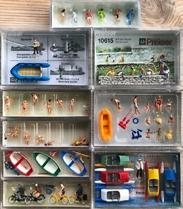 Preiser HO Gauge OO Summer Set - Choose from List - Combined Post Available