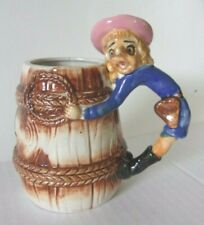 Vintage ugly Cowgirl mug marked Made in Japan. Great retro colors, never used!
