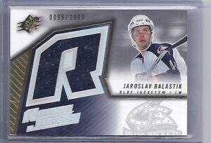 05-06 2005-06 SPX JAROSLAV BALASTIK ROOKIE JERSEY /1999 134 BLUE JACKETS