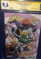 GUARDIANS OF THE GALAXY #1 CGC 9.6 SS MARVEL 2020 Party Variant Signed by Ewing
