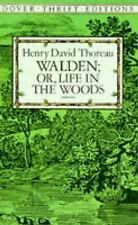 Walden - Or, Life in the Woods by Henry David Thoreau (1995, Paperback, New...