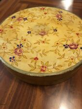 Vintage Made In Japan Divided Dish in Original Paper Mache Matching Round Box