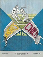 1973 Hartford Knights, minor league football, ACFL program