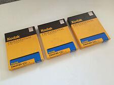 "3x Kodak Ektrachrome Panther 100 4/5"" Planfilm 10 Filme je BOX"