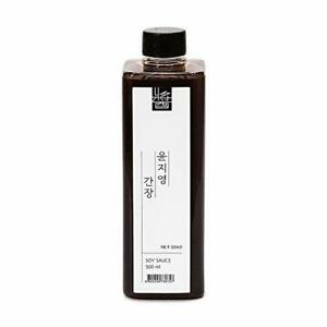 Yoon Ji-young Ganjang Korean Traditional Soy Sauce 17.6oz / 500ml 윤지영간장