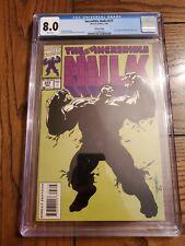 INCREDIBLE HULK #377 (Rare Third 3rd Printing Variant) CGC 8.0 Marvel Comic 1991
