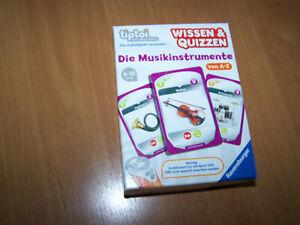 """Ravensburger tiptoi Wissen & Quizzen """"Die Musikinstrumente"""""""