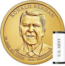 "2016 D Ronald Reagan Presidential ""Unopened"" Mint Dollar 25 Coin ROLL"