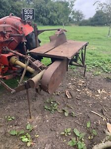 McConnel All Work Tractor PTO Saw Bench Logs Log Firewood