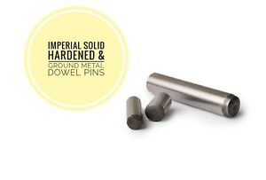 Hardened and Ground Dowel Pins BS1804 Limits