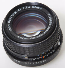 Pentax 50mm f1.4 M lens K-mount * manual focus