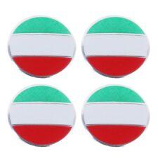 Sticker Aufkleber für Radnabenkappe Nabenkappe Nabendeckel - Italien Flagge Flag