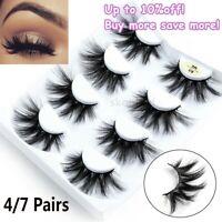 Wispy Fluffy Hair Criss-cross False Eyelashes Eye Lash Extension 3D Mink Hair