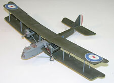 1/16 Scale British WW-I DeHavilland DH-10 Biplane Plans,Template,Instruc 49ws