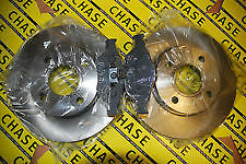 Ford Fiesta  02-09, Fiesta Van 02-09,  Fusion 02- Front Brake Discs And Pads