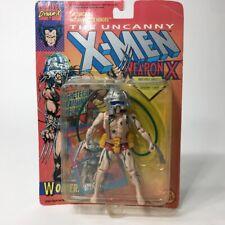 X-Men 1992 Toy Biz Wolverine Weapon X Green Vein Variant Unopened TB0033