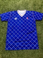 Chelsea 1987-1989 Home Football Shirt Size XL