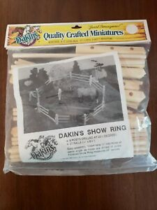 """Dakin's SHOW RING Minatures Quality Wood Horse Pony 26"""" NEW Easy Assembly1994"""