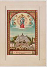 Albendorf, Wambierzyce, Polen, Wallfahrtskirche Mariä Heimsuchung - Lithographie