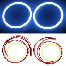 2x 80MM COB LED Angel Eyes Halo Ring Bulb Car Fog light Lamps White Color