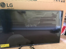 49 inch LG 4K TV with cracked screen for parts