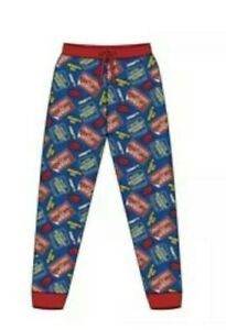 Mens Only Fools & Horses Lounge Pants Pyjama Bottoms Sizes S M L XL Del Boy