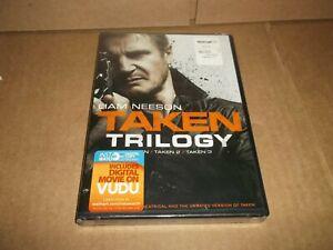 TAKEN TRILOGY TAKEN TAKEN 2 TAKEN 3 Liam Neeson, New, SEALED