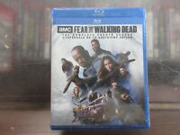 BRAND NEW Fear Of The Walking Dead Complete Fourth Season (Blu Ray)