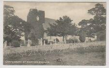 Kent postcard - Canterbury, St Martins Church